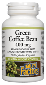 Natural Factors Green Coffee Bean Green Coffee Supplement Review