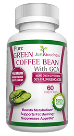 Just Goodness Green Coffee Bean Green Coffee Supplement Review