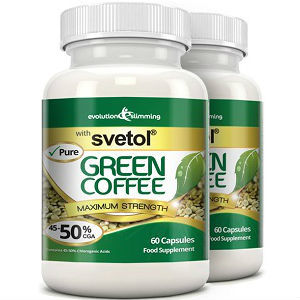 Evolution Slimming Pure Svetol Green Coffee Bean 50 Cga Review